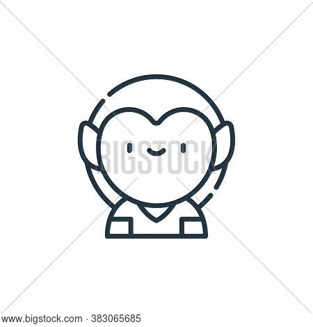 elf icon isolated on white background from videogame elements collection. elf icon trendy and modern