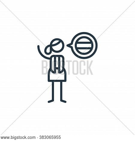 languages icon isolated on white background from arts collection. languages icon trendy and modern l