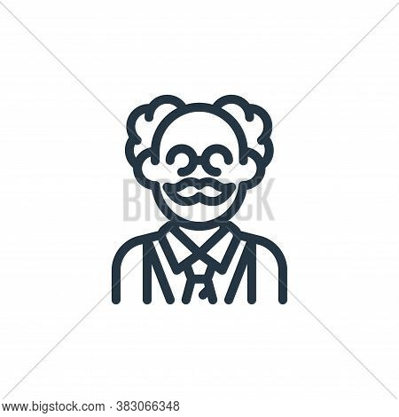 scientist icon isolated on white background from science collection. scientist icon trendy and moder