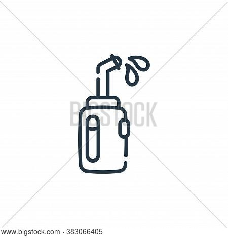 irrigator icon isolated on white background from dentist collection. irrigator icon trendy and moder
