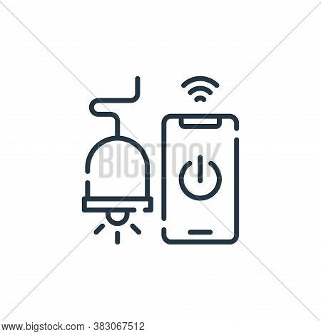 smart light icon isolated on white background from smart city collection. smart light icon trendy an