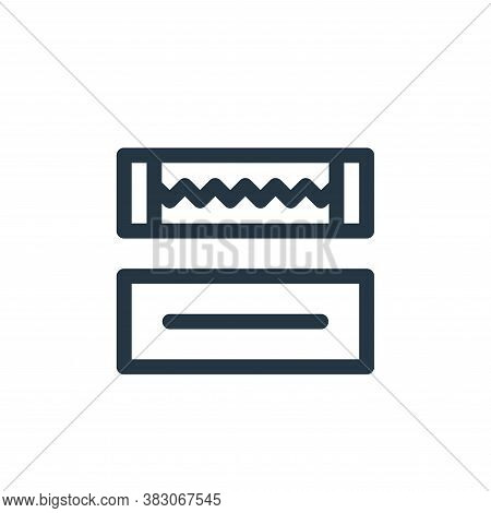 gum icon isolated on white background from quit smoking collection. gum icon trendy and modern gum s