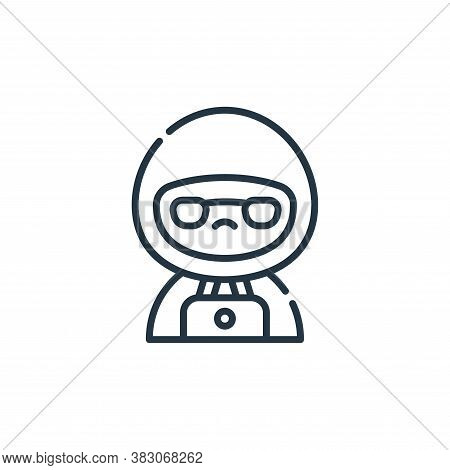 hacker icon isolated on white background from cyber security collection. hacker icon trendy and mode
