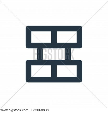 firewall icon isolated on white background from security collection. firewall icon trendy and modern