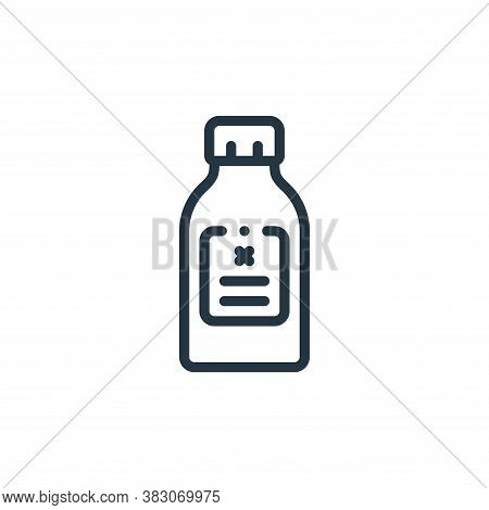 bottle icon isolated on white background from laboratory collection. bottle icon trendy and modern b