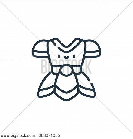 armor icon isolated on white background from videogame elements collection. armor icon trendy and mo