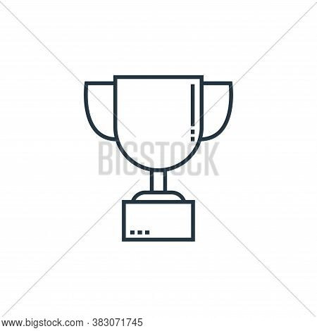 cup icon isolated on white background from school collection. cup icon trendy and modern cup symbol