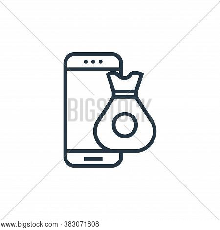 commerce icon isolated on white background from banking collection. commerce icon trendy and modern