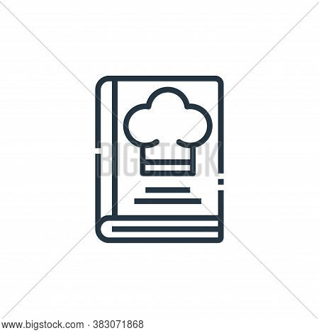 recipes icon isolated on white background from cooking collection. recipes icon trendy and modern re