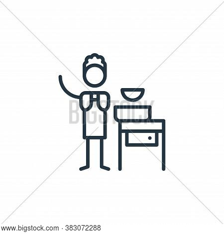 ceramics icon isolated on white background from arts collection. ceramics icon trendy and modern cer