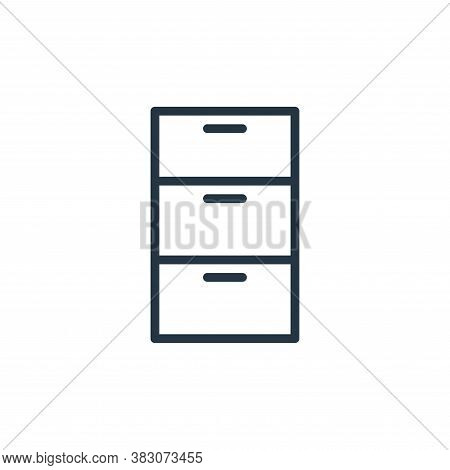 archive icon isolated on white background from working in the office collection. archive icon trendy