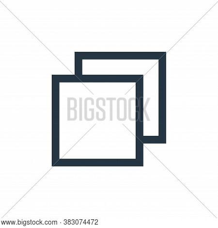 page icon isolated on white background from basic ui collection. page icon trendy and modern page sy