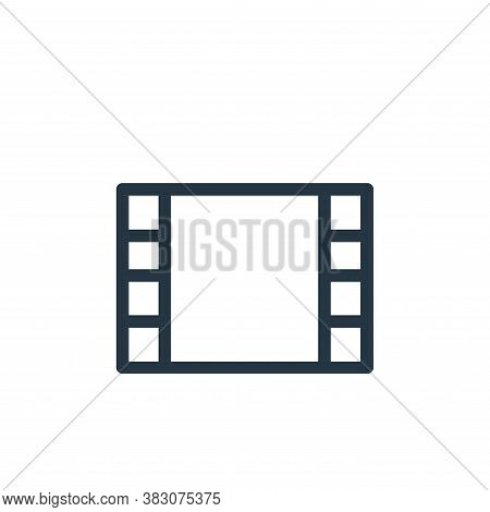 reel icon isolated on white background from ui collection. reel icon trendy and modern reel symbol f
