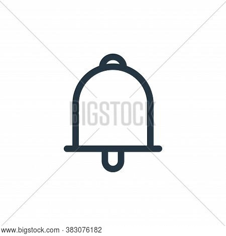 bell icon isolated on white background from miscellaneous collection. bell icon trendy and modern be