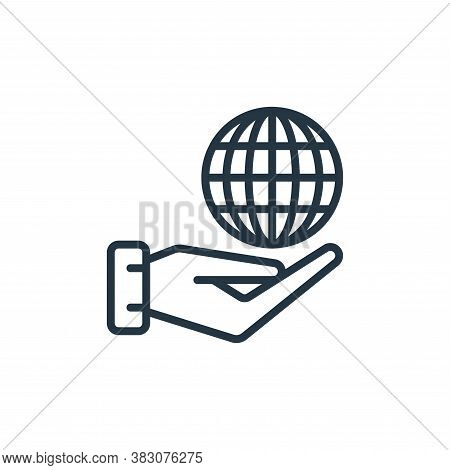 wireless internet icon isolated on white background from internet of things collection. wireless int