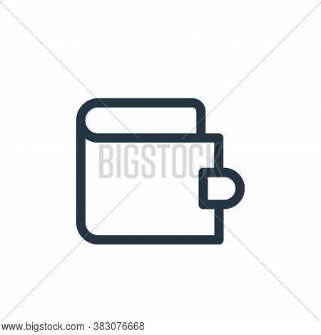 wallet icon isolated on white background from miscellaneous collection. wallet icon trendy and moder