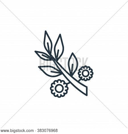 tree branch icon isolated on white background from spring collection. tree branch icon trendy and mo