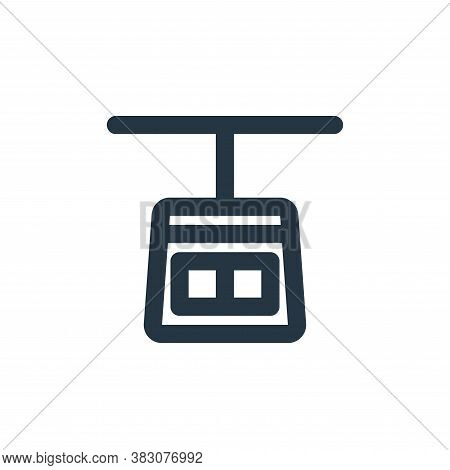 gondola icon isolated on white background from transportation collection. gondola icon trendy and mo