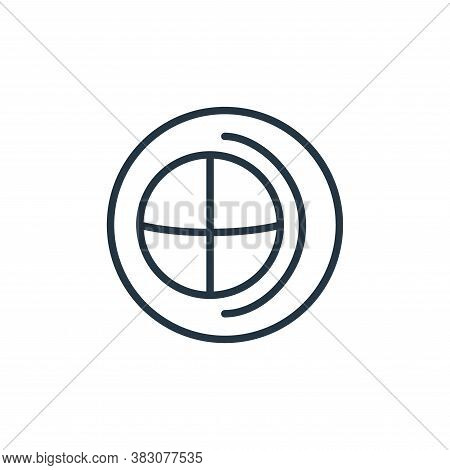 globe icon isolated on white background from online learning collection. globe icon trendy and moder