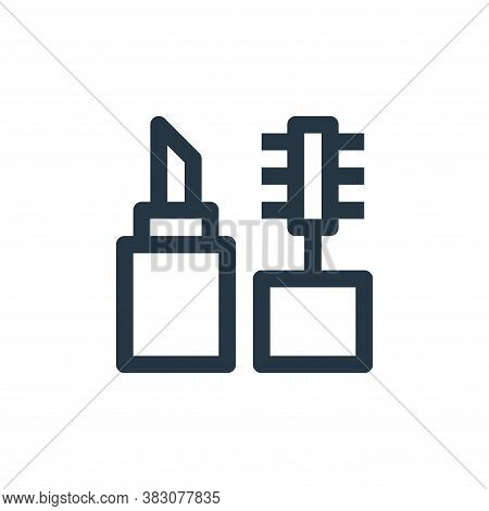 cosmetics icon isolated on white background from online shop categories collection. cosmetics icon t