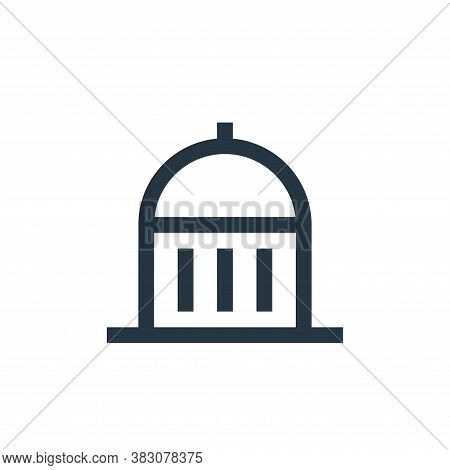 museum icon isolated on white background from property collection. museum icon trendy and modern mus