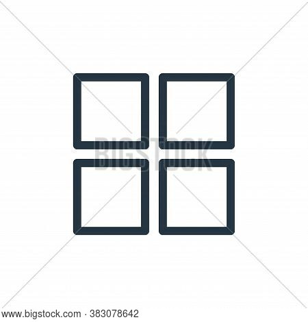 grid icon isolated on white background from ui collection. grid icon trendy and modern grid symbol f