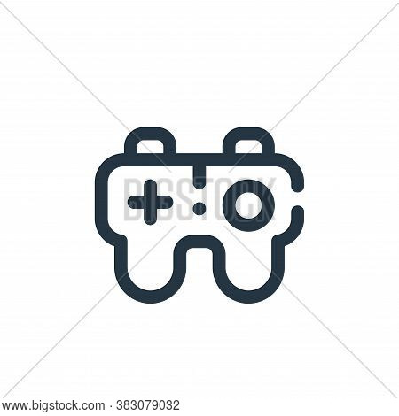 joystick icon isolated on white background from user interface collection. joystick icon trendy and