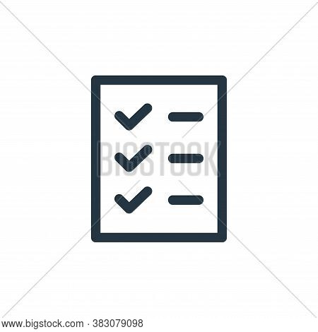 document icon isolated on white background from miscellaneous collection. document icon trendy and m