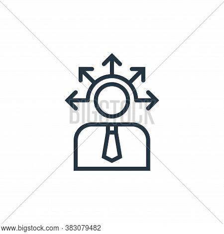 opportunity icon isolated on white background from business marketing collection. opportunity icon t