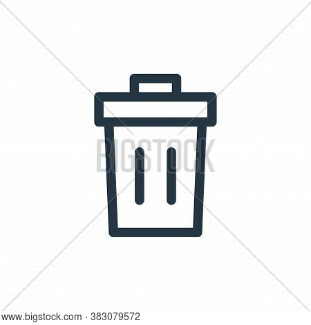 trash can icon isolated on white background from miscellaneous collection. trash can icon trendy and