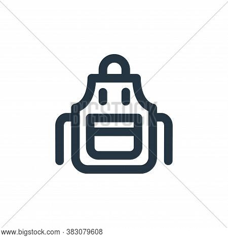 apron icon isolated on white background from restaurant collection. apron icon trendy and modern apr