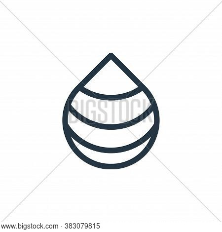 drop icon isolated on white background from web collection. drop icon trendy and modern drop symbol