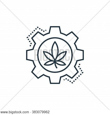ecology and environment icon isolated on white background from cells organs and medical cannabis col