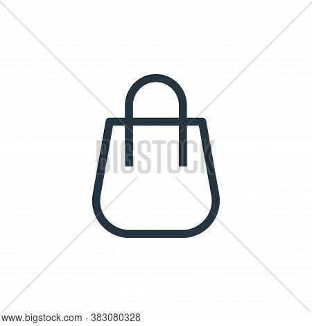 bag icon isolated on white background from ui collection. bag icon trendy and modern bag symbol for