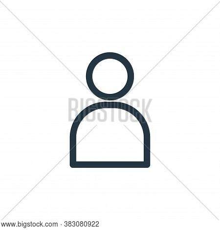 user icon isolated on white background from miscellaneous collection. user icon trendy and modern us