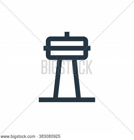 radio tower icon isolated on white background from property collection. radio tower icon trendy and