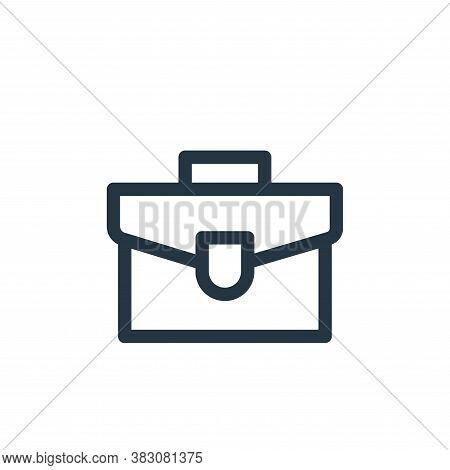 briefcase icon isolated on white background from miscellaneous collection. briefcase icon trendy and