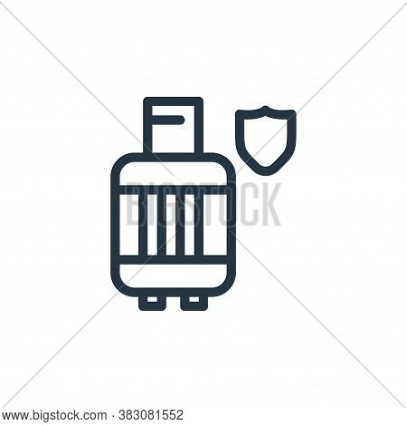 gas cylinder icon isolated on white background from protection collection. gas cylinder icon trendy