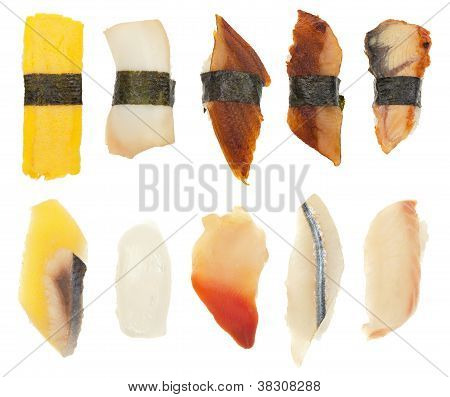Sushi Set Of Ten