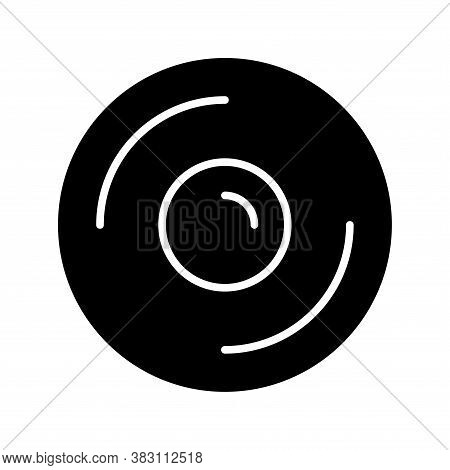 Cd,dvd Icon Glyph Style For Your Design