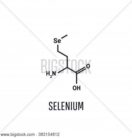 Selenomethionine Is A Naturally Occurring Selenium-containing Amino Acid. L-enantiomer, Selenium. Ve
