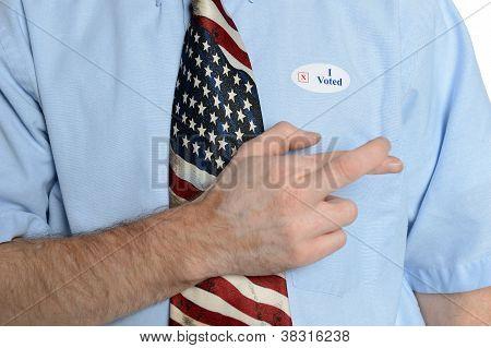 Hopeful Patriot Voter