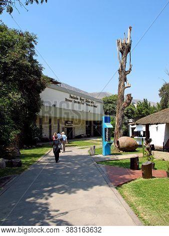 Lima / Peru - 30 Apr 2011: The Museum In Lima City, Peru, South America