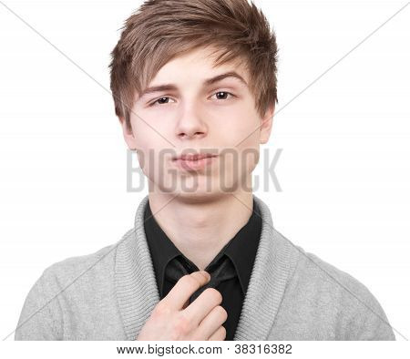 Confident Teenager