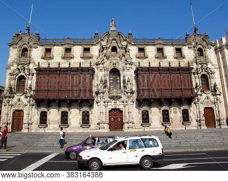 Lima / Peru - 01 May 2011: Basilica Y Monasterio De Santo Domingo, The Church In Lima City, Peru