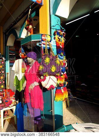 Lima / Peru - 01 May 2011: Inka Market, The Local Market In Miraflores, Lima, South America