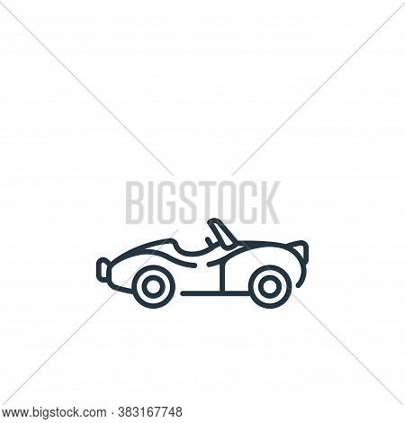 classic car icon isolated on white background from england collection. classic car icon trendy and m