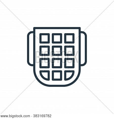 keypad icon isolated on white background from smarthome collection. keypad icon trendy and modern ke