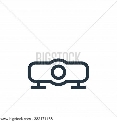 projector icon isolated on white background from media collection. projector icon trendy and modern
