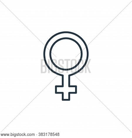 women icon isolated on white background from womens day collection. women icon trendy and modern wom
